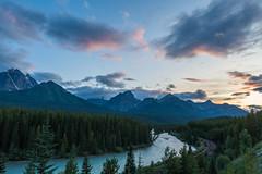 DSC09075 (itspoots) Tags: banff banffnationalpark water river sunset summer sony sigma alberta canada