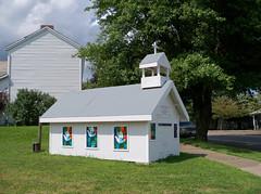 OH Adamsville - Mini Church (scottamus) Tags: adamsville ohio muskingumcounty small mini miniature building church chapel