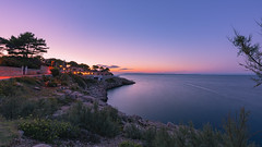 Punta beach (W. von Zeidler) Tags: velilosinj bluehour night water meer wasser adria maradriatico losinj ferien vacaciones colors insel island croacia croatia hrvatzka paradise adriatischeküste adriaticsea rocks pedras