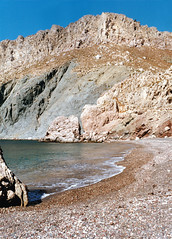Tholos, Tilos (Julian Hodgson) Tags: tholos tilos greece greekislands dodecanese beach nikonfm film kodak gold100 colourprint