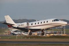 Cessna 560XL Citation XLS CS-DXJ NetJets Europe (Mark McEwan) Tags: cessna citation citationxls cessna560xl csdxj netjetseurope netjets edi edinburghairport edinburgh aviation aircraft airplane bizjet