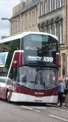Lothian 429 at Saint Andrew Square, Edinburgh (calderwoodroy) Tags: bus scotland edinburgh doubledecker saintandrewsquare lothian lothian100 lothianbusescentenary lothianbuses edinburghtransport transportforedinburgh 429 servicex99 sa15vtg cruiselink x99cruiselink volvo b5tl wrightbus eclipsegemini3