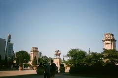 a day in july (vivudio) Tags: vivudio nikon l35 af film fuji superia 35mm chicago downtown summer millenium park art institute lion chess game museum