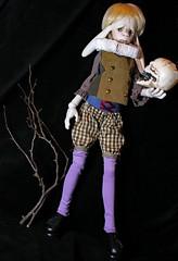 My gorge rises (bentwhisker) Tags: doll bjd resin anthro lumedoll baughn 9808 hamlet shakespeare