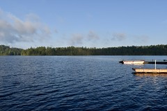 3 Seasons Docks 2 (Myusername432) Tags: lake kipawa quebec canada water sky clouds boat docks nature landscape trees 3 seasons camp