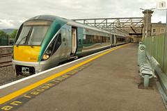 Mac Diarmada Railway Station, Sligo. (Jokertrekker) Tags: 22000 class irish railways iarnrod eireann mac diarmada railway station 22340