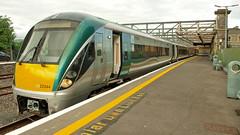 Mac Diarmada Railway Station, Sligo. (Jokertrekker) Tags: 22000 class irish railways iarnrod eireann mac diarmada railway station 22344