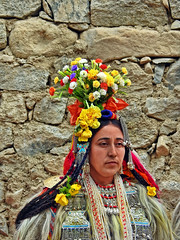 Tradition !! (Lopamudra !) Tags: lopamudra lopamudrabarman lopa portrait aryan lady woman flora flower flowers colour color colours colourful cold india jk darchick darchik artistic tradition custom dress ornament ladakh himalaya himalayas highaltitude highland beauty beautiful