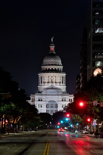 Texas Capitol at Night