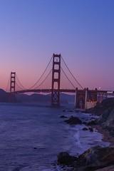 Blue Hour at the Golden Gate. (s1price) Tags: tripod ca francisco san california landscape zoom hour blue r eos canon bridge gate golden explore explored