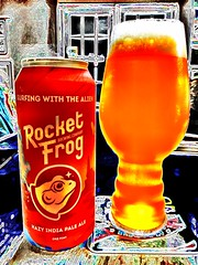2019 227/365 8/15/2019 THURSDAY - Surfing With The Alien NEIPA - Rocket Frog Brewing (_BuBBy_) Tags: 2019 227365 8152019 thursday surfing with the alien rocket frog brewing 8 15 227 365 days 365days project project365 loudoun county va virginia beer ne neipa ipa new england style india pale ale drink thor thorsday day