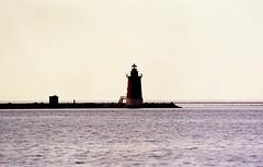 (bluebird87) Tags: beach lighthouse film dx0 c41 epson v600 kodak ektar nikon f100