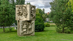 Moscow, Russia: Muzeon Park Skulptur, the answer to Russia's confederate monument problem (nabobswims) Tags: enhanced ilce6000 lightroom mirrorless mockba moscow nabob nabobswims parkskulptur ru russia sel18105g sonya6000