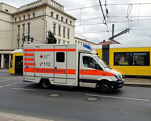 German Red Cross, Berlin, Germany Ambulance