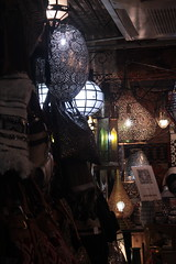 CHELSEA MARKET (Zun Lgru Photo) Tags: history things lights roof textures colors fabrics wood coins foot stairs lamps people nyc meatpacking district high line