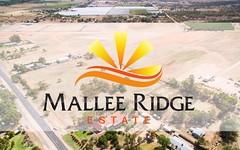 Mallee Ridge Drive, Irymple VIC