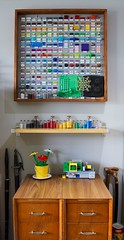 Colour Wall (BF Bricks) Tags: lego colours granules abs plastic rainbow collecting collector 2x4 brick