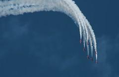 DSD_1865 (Copy) (pandjt) Tags: gatineau quebec airshow aéroportexécutifgatineauottawa aero aerogatineauottawa aircraft airplane redarrows rafredarrows northamericatour2019 baehawk hawkt1 aerobaticteam jet jetairplane jetphoto