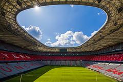 Allianz Arena (ab-planepictures) Tags: allianz arena bayern münchen stadion deutschland germany munich