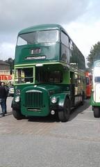 574 CNW - Leeds City Transport 574 - Daimler CVG6LX, Roe H39/31F. New 1962. (Belmont_21988uk) Tags: dewsbury mill batley milloutlet 574cnw roe daimler cvg6lx lct leeds