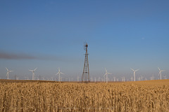 I took another road trip to central Oregon last month... (Twilight Star Photography) Tags: centraloregon windfarm windmill wheat wheatfields
