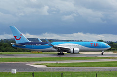 B767 G-OBYG TUI (Avia-Photo) Tags: airport airline airliner aviacion aeroplane airplane aircraft airlines airliners aviation avion boeing egcc flugzeug jet luftfahrt man plane planespotting pentax ringway spotter spotting