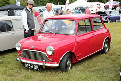 1961 Austin Mini 1059RK MCR National Mini Cooper Day Beaulieu 2019 (davidseall) Tags: 1961 austin 1059rk 1059 rk classic original old shape style red car great british mcr national mini cooper day beaulieu 2019 hampshire uk register mk1