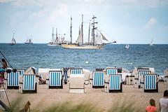 Baltic Sea - Warnemünde - Beach 4454 - Hanse Sail (Peter Goll thx for +14.000.000 views) Tags: rostock mecklenburgvorpommern deutschland warnemünde ostsee balticsea sea meer ocean strand strandkorb schiff ship nikon nikkor nikkor28300 z6 nikonz6 beachchair hansesail hansesail2019
