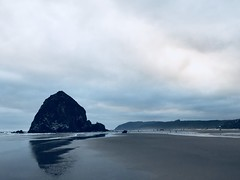 """05A88F2A-DD0C-423C-9525-4DB6D74CEB16 (komissarov_a) Tags: cannonbeach haystackrock oregoncoast 101 formations tidepools sunsets spectacular ocean viewpoints rocks attraction tides running hiking skyhigh scenic pacific west surprise beautiful sandy shoreline perfect wonderland remarkable refreshing unbeatable stunning scenery unforgettable vistas naturalareas komissarova streetphotography rgb iphone7 color rainforest downtown paradise dramatic enjoyable landscapes famous nationalgeographic magazine picturesque sidewalks artgalleries specialtyshops restaurants """"oneoftheworld's100mostbeautifulplaces 2019"""