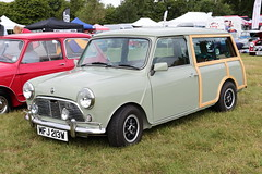 1980 Austin Mini Traveller MFJ213W MCR National Mini Cooper Day Beaulieu 2019 (davidseall) Tags: 1980 austin traveller estate countryman woody mfj213w mfj 213w classic old shape style original great british car mcr national mini cooper day beaulieu 2019 hampshire uk register