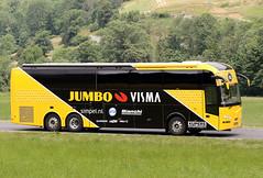Tour de France 2019 - JUMBO VISMA (gimbellet) Tags: canon nikon auto automobiles autobus autocar autobuses autocares bus buses cars camion car véhicules voiture motor transport transportation extérieur france french team race cyclisme cycle cycling cyclist