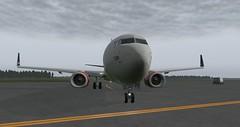 b738 - 2019-08-16 02.50.29 (Rell Brown) Tags: scandinavian airlines boeing 737800 737ng xplane xp11 fsx flight fs2004 fs9 skelleftea sweden