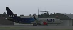 b738 - 2019-08-16 02.49.26 (Rell Brown) Tags: scandinavian airlines boeing 737800 737ng xplane xp11 fsx flight fs2004 fs9 skelleftea sweden