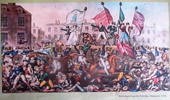 'The Word' newspaper's commemoration of the Peterloo Massacre (Diego Sideburns) Tags: theword newspaper peterloo peterloomassacre 200anniversary manchester stpetersfield