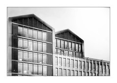 Bordeaux Building (Jean-Louis DUMAS) Tags: bordeaux abstract abstrait abstraction architecture architect architecte architectural architecturale bâtiment building ciel sky blue city windows fenêtres art batiment twop noretblanc tower award monochrome reflets reflecting reflections noir blanc black white photos bnw nb ngc bw hotel blackwhitephotos blackwhite noireblanc blackandwhite noirblanc noiretblanc