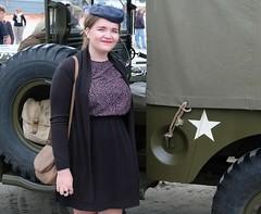 Saint-Michel-en-Grève. Anniversaire du débarquement de 1944 (claude 22) Tags: armée américaine ww2 saintmichelengrève general pattons army véhicules militaires us vehicle brittany bretagne france aniversaire libération débarquement 1944
