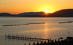 Alghero Sunset (raffaele pagani (away for a while)) Tags: alghero provinciadisassari provinceofsassari sardegna sardinia marmediterraneo mediterraneansea italia italy