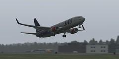 b738 - 2019-08-16 03.13.24 EDITED (Rell Brown) Tags: scandinavian airlines boeing 737800 737ng xplane xp11 fsx flight fs2004 fs9 skelleftea sweden