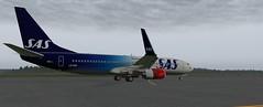 b738 - 2019-08-16 02.53.00 (Rell Brown) Tags: scandinavian airlines boeing 737800 737ng xplane xp11 fsx flight fs2004 fs9 skelleftea sweden