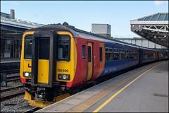 East Midlands Trains 156406 (Mike McNiven) Tags: eastmidlandstrains emt stagecoach emr eastmidlands railway sheffield nottingham norwich liverpool limestreet manchester piccadilly sprinter supersprinter dmu diesel multipleunit