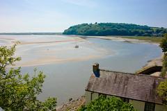 Dylan Thomas' Boathouse, Laugharne (john Truman) Tags: poet laugharne poetry dylanthomas boathouse wales cymru d700 tamron nikon landscape