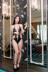 DSC_6167 (錢龍) Tags: 貝兒 中華民國 台灣 台中 沐蘭 汽車旅館 性感 巨乳 美胸 美乳 外拍 旅拍 長髮 內衣 內褲 胸罩 美麗 belle nikon d850 hotel sexy underwear