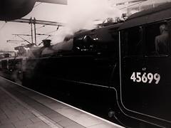 Jubilee Two (_J @BRX) Tags: train rail railway railroad steam locomotive londonmidlandandscottishrailway lms jubilee class 5699 br 45699 galatea preserved crimson lds leeds yorkshire england uk railtour mainline 6p maroon 1z47 carlisle york galetea 11th august 2019 westcoastrailwaycompany iphone