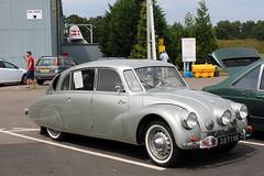 1946 Tatra T87 (Davydutchy) Tags: cosford shifnal shropshire england great britain uk vk raf royal airforce museum tatra 87 t87 classic car vehicle czech aircooled v8