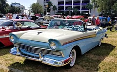 1957 Ford Fairlane Convertible (ciscoaguilar) Tags: car classic ford fairlane convertible 1957 cruisin biloxi mississippi