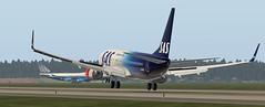 b738 - 2019-08-16 04.26.27 (Rell Brown) Tags: scandinavian stockholm xplane simulator xp11 skelleftea sweden sas 737ng boeing fs2004 fsx fs9 flight laminar research p3d prepar3d