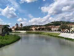 Verona, fiume Adige (Marco Fantinato) Tags: verona veneto italia italy fiume adige acqua