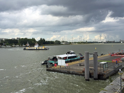 Crossing the Scheldt