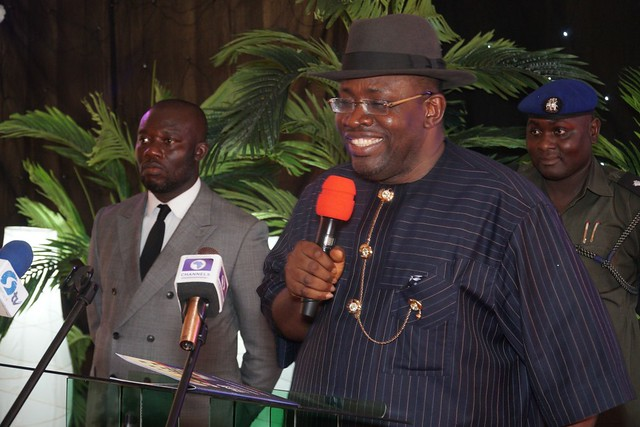HSDickson - His Excellency at the Official Launch of Henry Seriake Dickson Foundation