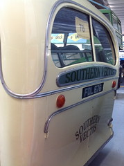 Back End of a Bus... (andreboeni) Tags: classic bus coach autocar car cars buses coaches omnibus omnibusse classique rétro retro auto oldtimer klassik classica classico bedford ob duple vista c29f isleofwight buscoach museum 1949 southernvectis fdl676 iow